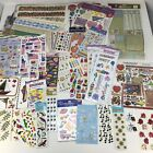 Mixed Lot Of Scrapbook Stickers Borders Misc NEW Packages  Loose Sheets