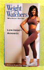 Weight Watchers Workout Series Low Impact Aerobics VHS Video Fitness Exercise