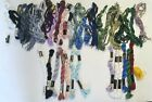 36 DMC PERLE COTTON THREAD FLOSS 13 BRAND NEW 23 PARTIAL NEARLY FULL w Labels