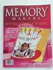 Memory Makers Birthday Pages for all Ages July August 2002