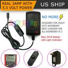 5V 3A Micro USB AC Adapter Wall Power Supply Charger Cord for Raspberry Pi 3