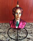 CHRISTOPHER RADKO HOOKED ON CLASSIC'S ORNAMENTS CHOPIN BUST