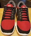 Nike free 50 sneakers running shoes red and black size 6 1 2 Y solid nice