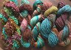 Danette Taylor Handpainted Hand Dyed Yarns Silk Mohair Rayon Set SPECIALS