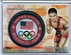 2012 TOPPS OLYMPIC HENRY CEJUDO TEAM PATCH CARD OLYMPICS WRESTLING MMA UFC