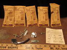 5 NOS VINTAGE AMEROCK HARDWARE ED9400 cabinet drawer Catch push button Latch