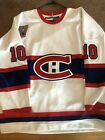 Authentic Guy Lafleur Montreal Canadiens #10 CCM Hockey Jersey Size 56