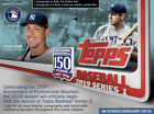 2019 Topps Series 1 Jumbo Sealed Hobby Box + 2 Silver Packs