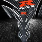 Real Carbon Fiber Gas/Fuel Tank Pad Decal/Logo Sticker Protector Kit GSXR Gixxer