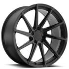 Set4 20 Staggered TSW Wheels Watkins Matte Black w Black Rotary Forged Rims