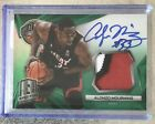 14-15 Panini Spectra Green 5 Patch Auto Alonzo Mourning 3 color patch