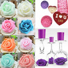 New 50 Foam Rose Heads Artificial Flowers Wedding Bride Bouquet Party Decor DIY