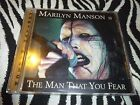 Marilyn Manson The Man That You Fear CD - VERY RARE - LIKE NEW!!!