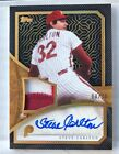 2019 Topps Series 1 STEVE CARLTON Reverence HOF 3 Color Patch On Card Auto #8 10