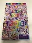 NEW LISA FRANK OVER 1200 STICKER COLLECTION 10 SHEETS RAINBOW UNICORN BOOK