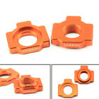 Axle Blocks Chain Adjuster For KTM 950 990 SUPERMOTO/R SUPER DUKE/R ADV/S/R SMT