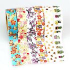 foil washi tape Japanese paper Succulent plants masking tape scrapbooking tools