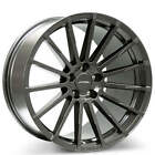 QTY4 20 Staggered Ace Alloy Wheels Devotion Titanium Rims FS