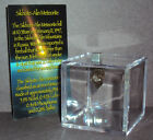 Sikhote Alin Meteorite with Display Cube Genuine 16 gram Russian Meteorite
