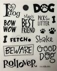 Dog Animal Scrapbook Stickers