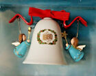 1980 The Bellringers Hallmark Ornament Second in the Ceramic Bell Series w/Box