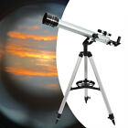 Portable Astronomical Refractor Telescope Travel Scope With Tripod For Beginners