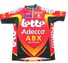 Vintage NALINI Lotto Adecco Cycling Team Bike Bicycle Jersey Mens Small 3