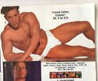 Vintage Undergear Mens FRENCH CONTOUR Bikini Low Rise Brief MED NEW 1990'S WHITE