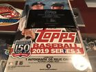 2019 Topps Series 1 Silver Pack w Factory Sealed Hobby Box