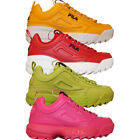 Womens Fila DISRUPTOR II PREMIUM Retro Chunky Sole Training Sneakers Shoes