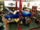 Built 1/24 Scale Chevy Chevelle, nice Speed Shop Diorama addition!!