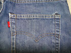 Vintage LEVIS 505 double stitch Indigo Denim Jeans No BIG E No Redline 31x31