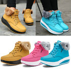 Women Winter Warm Platform Ankle Snow Boots Ladies Fur Lined Sneakers Shoes Size