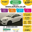 2016 WHITE VAUXHALL CORSA 14 90 LIMITED EDITION PETROL 3DR CAR FINANCE FR 29PW