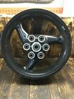 02-05 DUCATI MONSTER DARK M620 Rear Wheel Rim OEM *STRAIGHT* 17×4.5