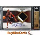 2006-07 Michael Jordan Exquisite Autograph Patches Patch Auto 100 BGS 9.5 10