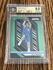 2018-19 Prizm Luka Doncic Green BGS 9.5 Gem Mint High Subs RC Rookie