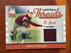 2009 Donruss Elite SHELBY MILLER AUTO # 100 Throwback Threads RC Relic