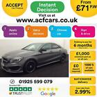 2015 GREY MERCEDES CLA220 21 CDI AMG SPORT DIESEL COUPE CAR FINANCE FR 71 PW