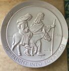 Flight Into Egypt FRANKOMA 1968 CHRISTMAS PLATE  signed by JOHN FRANK