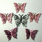 6 Butterfly Die Cuts Embellishment Scrapbook Paper Piecing Bug Party Card Topper