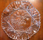 Federal Glass  - Pioneer (Flashed Fruit on Clear) Serving Plate
