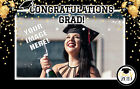 GRADUATION Party EDIBLE CAKE TOPPER IMAGE Photo Frosting Sheet Custom