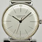 Auth JUNGHANS Max Bill 027 3004  Hand-winding Unisex Watch L#76553