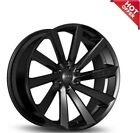 Koko Kuture Kapan Black 22x9 22x105 Wheels 5x112 Fit Mercedes Benz CLS550
