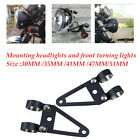 Motorcycle Cafe Racer Fork Headlight Mount Bracket Holder 4mm steel material