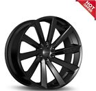 QTY4 Koko Kuture Kapan Black 20x9 20x105 Wheels Fit Mercedes Benz CLS550
