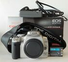 Boxed Silver Canon EOS 400D DSLR 10.1MP Camera Body + Battery + Charger, No Lens