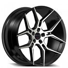 4 set Giovanna Haleb Black 22x9 22x105 Wheels Fit Mercedes Benz CLS550
