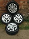 RENAULT 16 ALLOY WHEELS X4 WITH 205 55 R16 TYRES